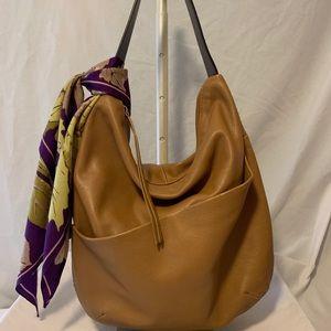 Christopher Kon English Tan Leather Bag